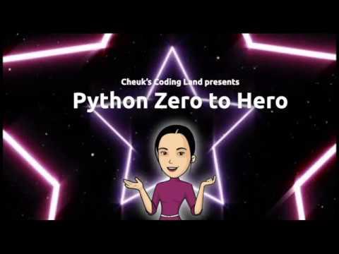 Python Zero to Hero - Ep.1 - get your Python setup