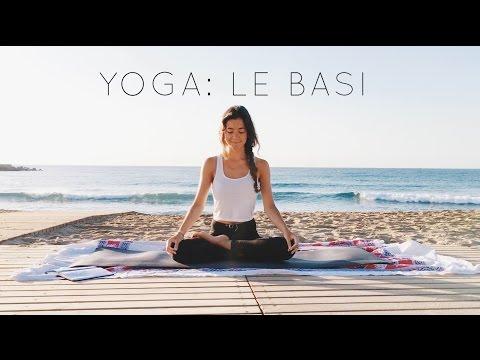 yoga per principianti: le basi