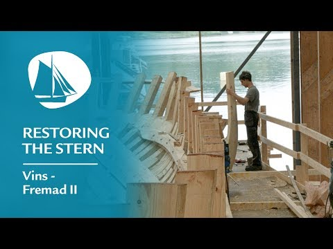 This young boat builder is a delight to any craft interested person's eye