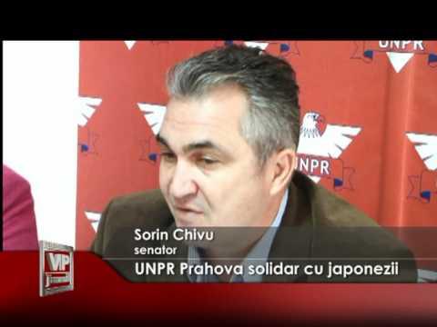 UNPR Prahova solidar cu japonezii