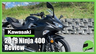 8. 2019 Kawasaki Ninja 400 Review