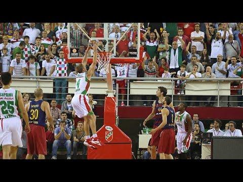 Highlights: RS Round 1, Pinar Karsiyaka Izmir 71-62 FC Barcelona Lassa