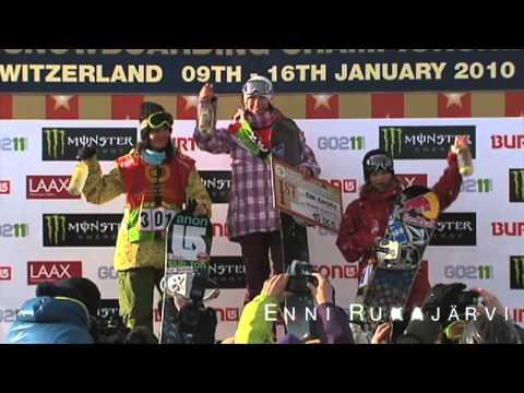 Women´s TTR Snowboard Tour Finale - US Roxy Chicken Jam 2010 Event Promo