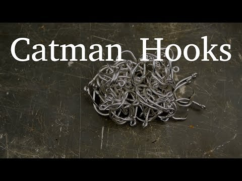 Black Warrior Lures Catman Circle Hooks   Jugline Catfish Circle Hooks