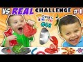 foto GUMMY vs. REAL FOOD CHALLENGE! LIVE Animals FUN (Chase's Corner #48 DOH MUCH FUN) Borwap