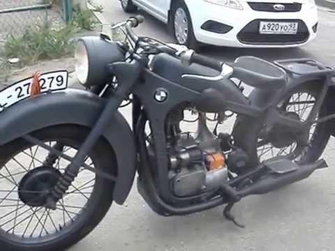 Мотоцикл бмв р 35 реставрация фотка