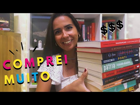 PRIMEIRO BOOK HAUL DE 2020 ? | Ana Carolina Wager