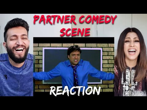 Govinda and His Dancing || PARTNER Movie Comedy Scene || Bollywood Comedy Scenes || Reaction Waley