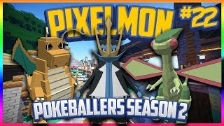 Pixelmon Server Pokeballers Adventure Season 2 Episode 22 - Trainer Battles!