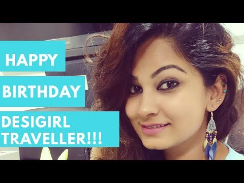 Happy birthday messages - DesiGirl Traveller  Birthday Message  Thank You Subscribers!!!