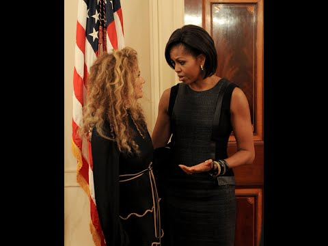 Miri Ben-Ari performs the National Anthem at the White House