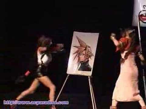 anime catfight