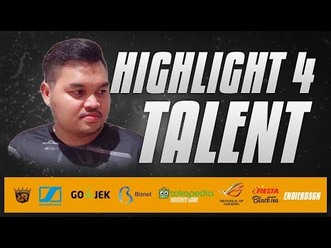 HIGHLIGHT 4 - TaLenT PERDANA PBIL2018