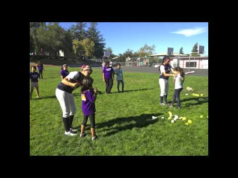 NDNU Softball Community Service