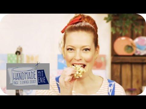 Müsliriegel mit Popcorn | Handmade mit Enie - Mach's einfach selbst | sixx