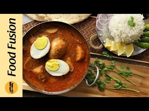 Egg Korma Recipe By Food Fusion