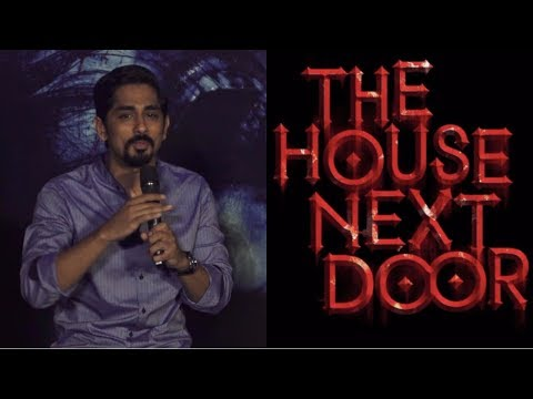 Siddharth Suryanarayan Share Experience During The Film Shoot| The House Next Door |