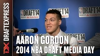 Aaron Gordon - 2014 NBA Draft Media Day