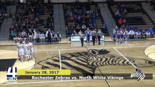 Rochester Boys Basketball vs. North White Vikings