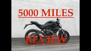 6. 5000 miles review part 1 ducati monster 797