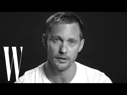 Alexander Skarsgård's First Kiss Made Him Cry | Screen Tests | W magazine