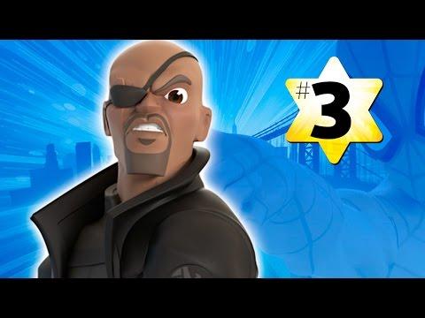 Прохождение Disney Infinity 2.0 Человек паук #3 Директор Щита Фьюри (видео)