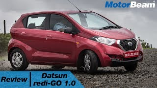 https://www.motorbeam.com drives the Datsun redi-GO which has now got a 1.0-litre petrol engine. This variant of the small hatchback produces more power and torque and improves the overall driveability by quite an extent. There are some other minor changes to the car too.The Datsun redi-GO contributes to 50% sales for the Nissan Group in India and it competes with the Renault Kwid, Maruti Alto & Hyundai Eon.Become a #MotorBeamer: http://bit.ly/MotorBeamerVisit our website: https://www.motorbeam.comLike us on Facebook: https://www.facebook.com/MotorBeamFollow us on Instagram: http://www.instagram.com/MotorBeamAdd us on Snapchat: https://www.snapchat.com/add/MotorBeamFollow us on Twitter: https://www.twitter.com/MotorBeamCheck us out on Pinterest: https://www.pinterest.com/motorbeam+1 us on Google Plus: https://plus.google.com/+motorbeam