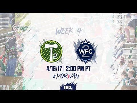USL LIVE - Portland Timbers 2 vs Vancouver Whitecaps FC 2 4/16/17