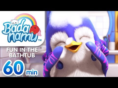 Fun in the Bathtub | Badanamu Compilation