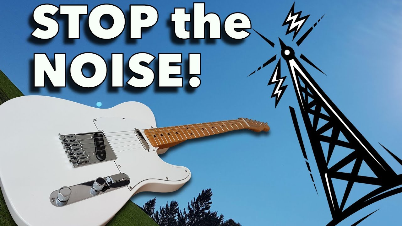 Shielding a Noisy Electric Guitar – How Well Does it Work?
