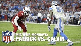 Patrick Peterson Mic'd Up vs. Calvin Johnson (2013) | #MicdUpMondays | NFL by NFL