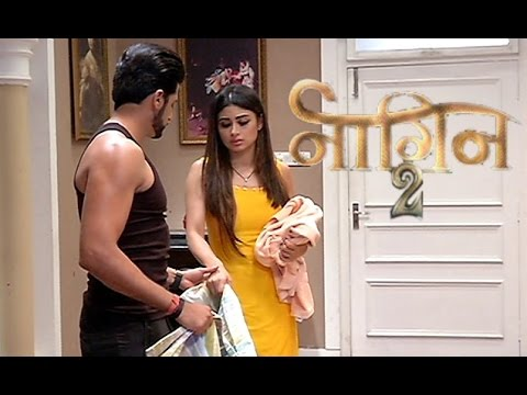 Naagin 2 15th December 2016 Shivangi And Rocky Romantic Fight - On Location News