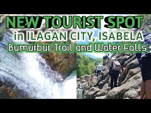 NEW TOURIST SPOT IN ILAGAN CITY ISABELA | BUMURBUR TRAIL AND WATER FALLS