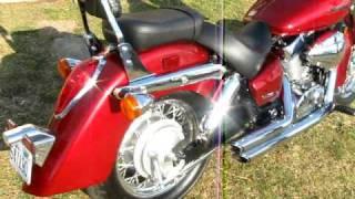 10. 05' Honda Shadow Aero 750 with V&H ShortShots