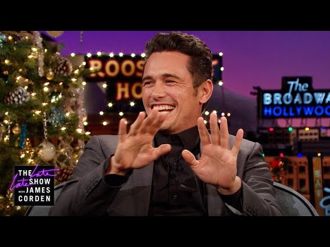 James Franco Is Working On His Magic Mike Moves