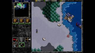warcraft 2 ToD - human campaign - mission 3