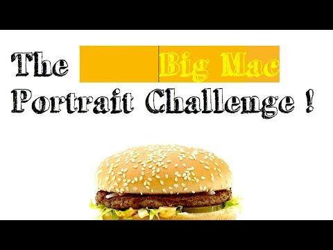Hienoja kuvia kännykällä: The Big Mac Portrait Challenge