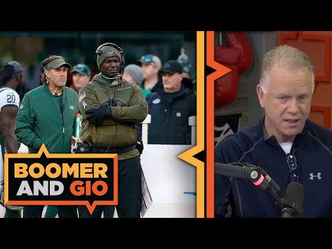 Video: The Jets' Todd Bowles is in the HOT seat | Boomer and Gio