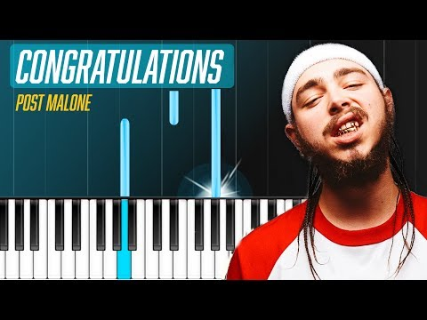 "Post Malone - ""Congratulations"" Piano Instrumental Cover"