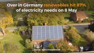 Germany Sets Solar Production Record