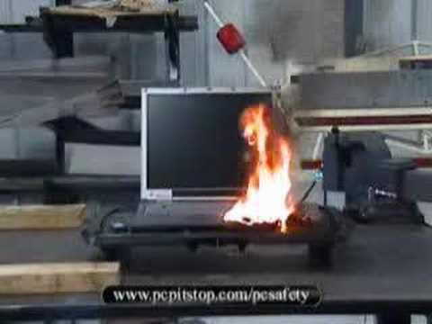下載太多X片!電腦燒起來了…
