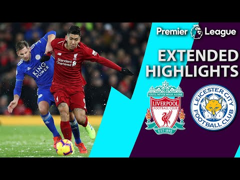Video: Liverpool v. Leicester City | PREMIER LEAGUE EXTENDED HIGHLIGHTS | 1/30/19 | NBC Sports