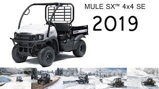 5. KAWASAKI MULE SX 4x4 SE 2019