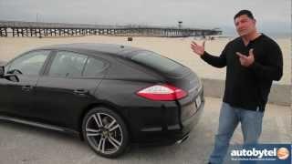 2012 Porsche Panamera Test Drive&Luxury Sports Car Video Review