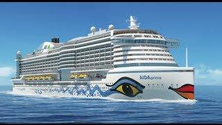Vorstellung AIDAprima: Konzept der neuen Schiffsgeneration