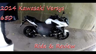 3. 2014 Kawasaki Versys Ride & Review.