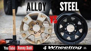 Video STEEL vs ALLOY rims Off-road Wheels MP3, 3GP, MP4, WEBM, AVI, FLV Juli 2019
