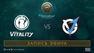 IG.V vs VG.J, The International 2017 Qualifiers [mortallestv]