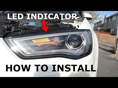 How To Install LED Front Indicator