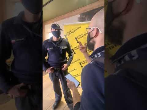 Idealny przykład przekroczenia uprawnień przez Policję – wszystko nagrane.
